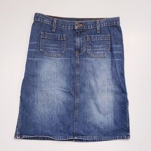 Abercrombie  and Fitch Pencil Jean Skirt